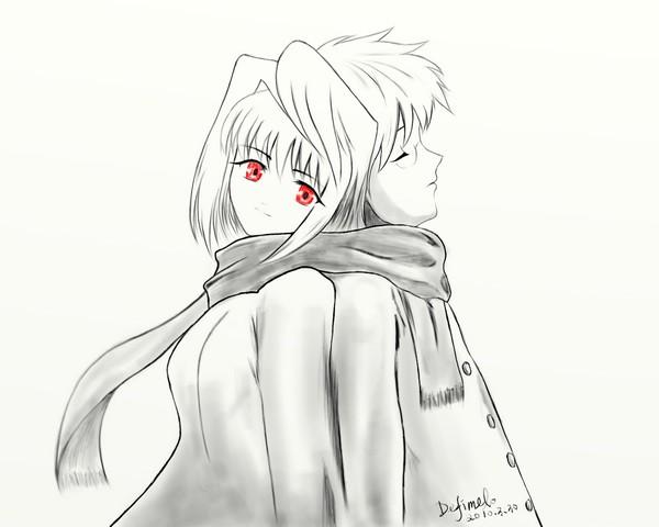 Arcueid and Shiki