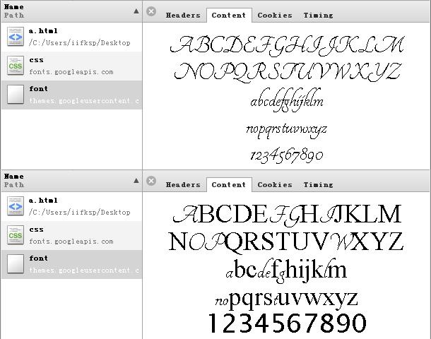 google font api optimizing requests