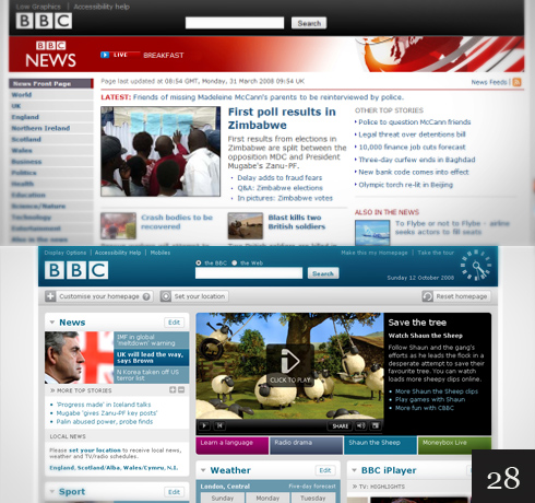 The BBC website