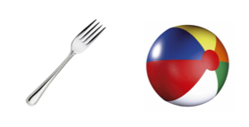 sharp fork rounded beachball