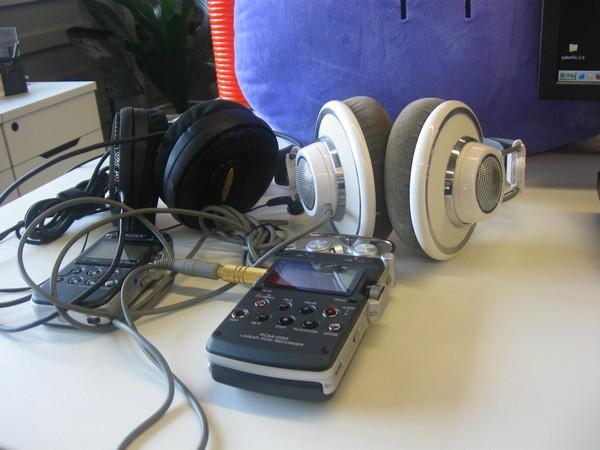 Sony D50 AKG K701