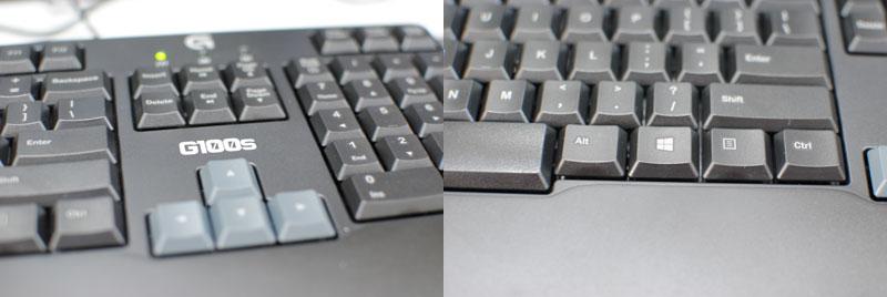 g100s keyboard