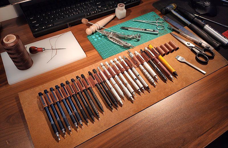 自动铅笔和收纳