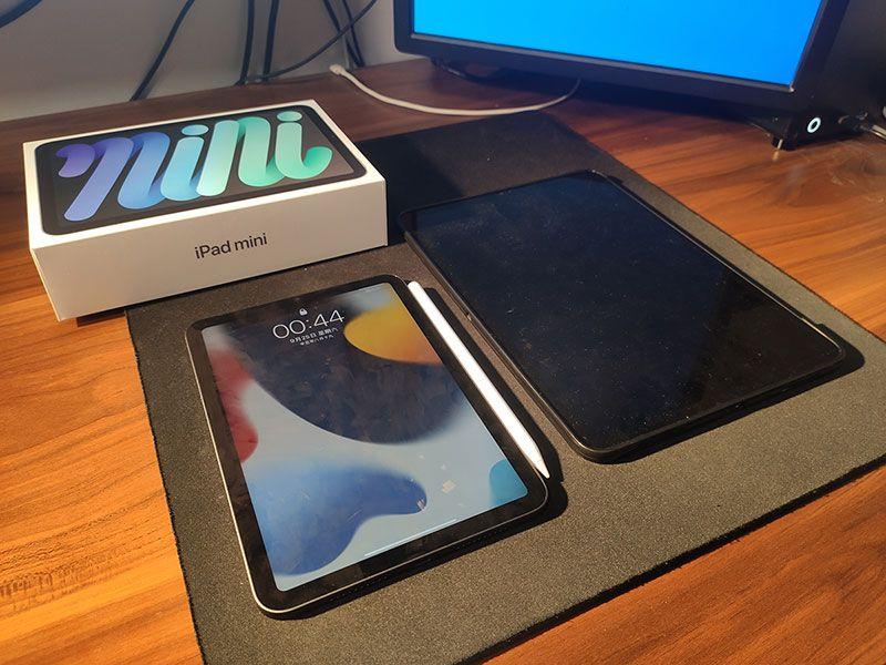 iPad mini6与果冻效应